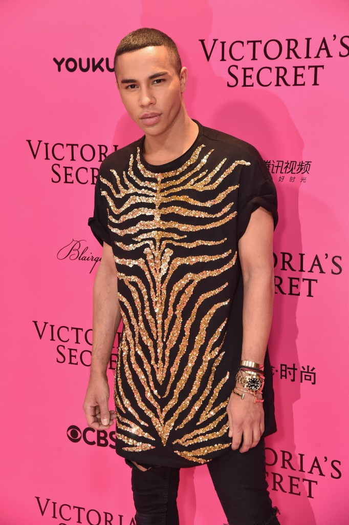 SHANGHAI, CHINA - NOVEMBER 20: Designer Olivier Rousteing attends the 2017 Victoria's Secret Fashion Show In Shanghai Pink Carpet Arrivals at Mercedes-Benz Arena on November 20, 2017 in Shanghai, China. (Photo by Theo Wargo/Getty Images for Victoria's Secret)