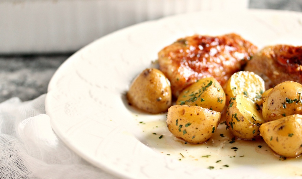 Honey-Baked-Chicken-and-Potatoes-7