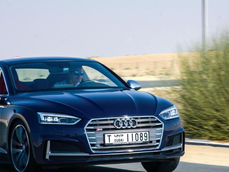 Audi S5 and Audi TT 2