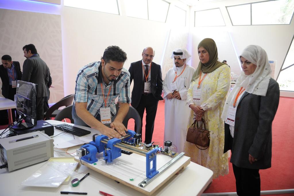 Bahrain Polytechnic School of ICT Project Exhibitio